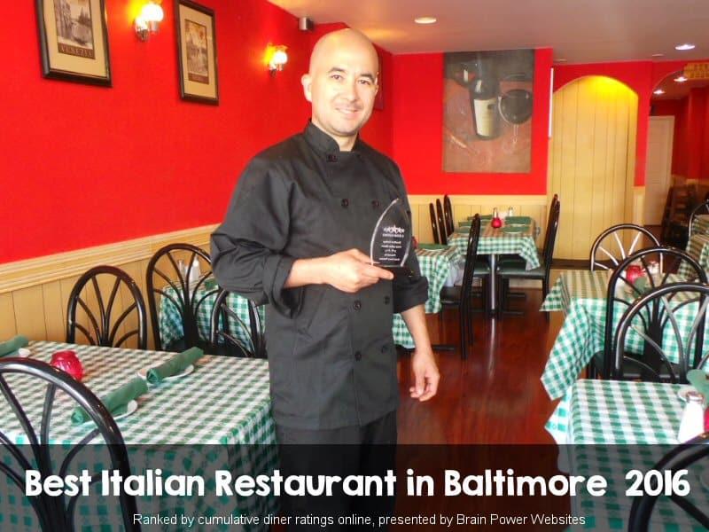 Brendali Italian Ristorante Best Restaurant In Baltimore 2016